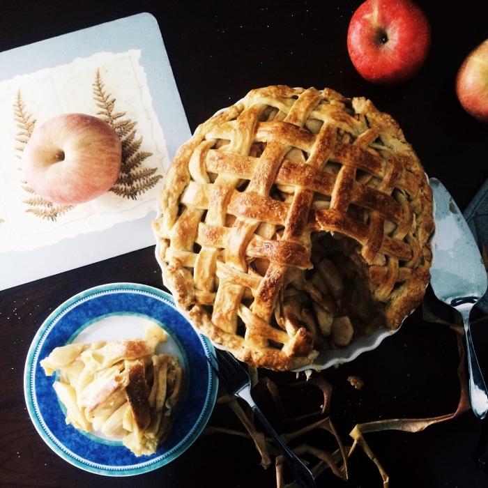 Classic Lattice Top Apple Pie (Cheat)