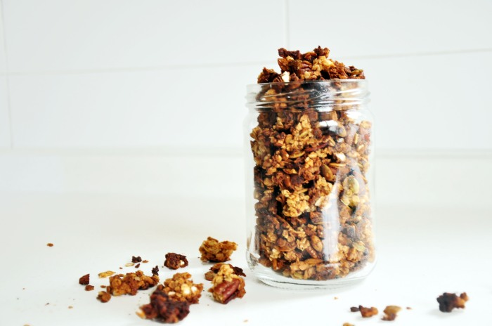 7-Ingredient Granola Chunks (Clean)