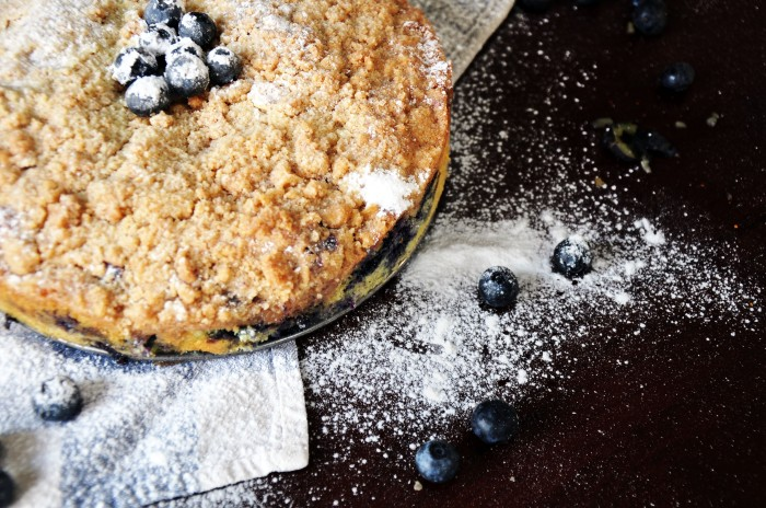 Blueberry Crumb Cake (Cheat)