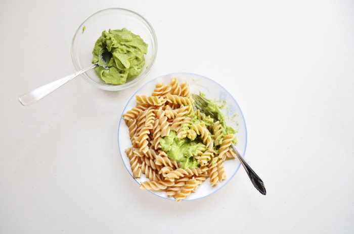 Easiest 3-Ingredient Avocado Pasta Sauce