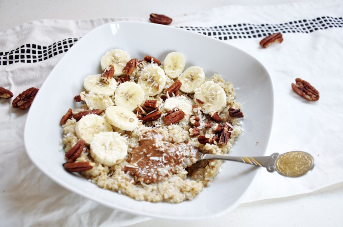 Nutty Coconut Quinoa (Clean)