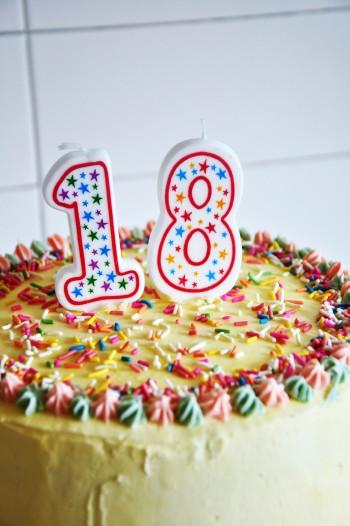 Funfetti Layer Birthday Cake Cheat Clean Cheat Repeat - Happy birthday 18 cake