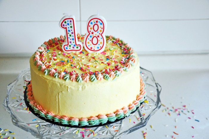 Funfetti Layered Birthday Cake (Cheat)