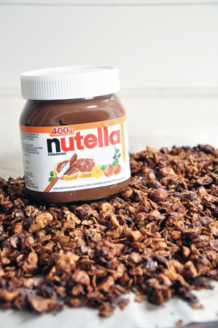 Nutella Granola (Cheat)