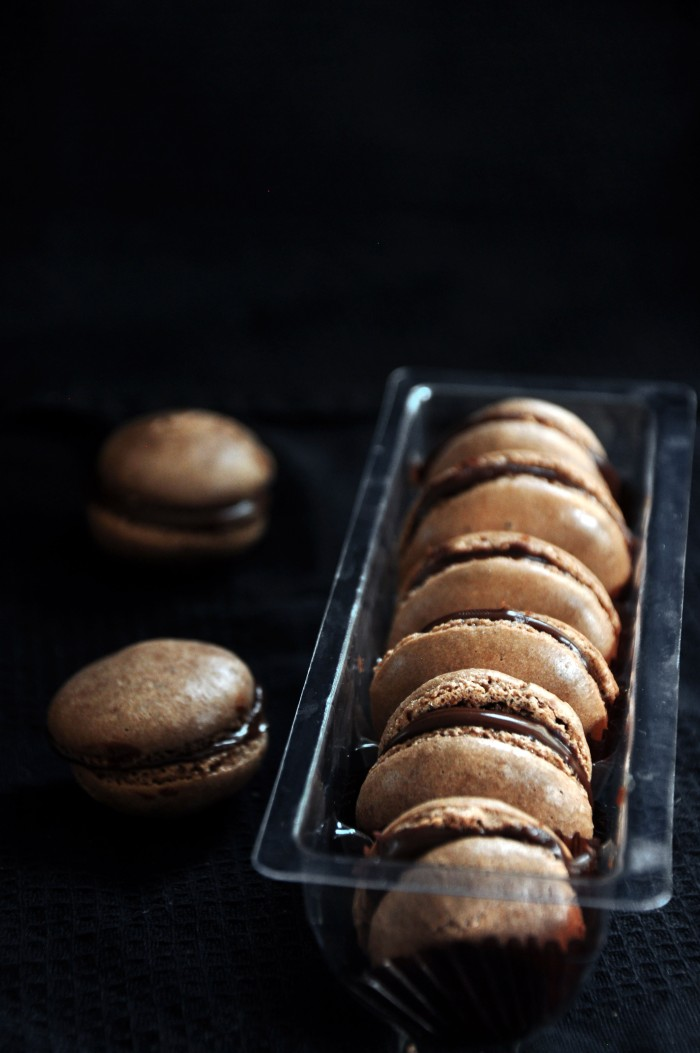 Chocolate Macarons (Cheat)