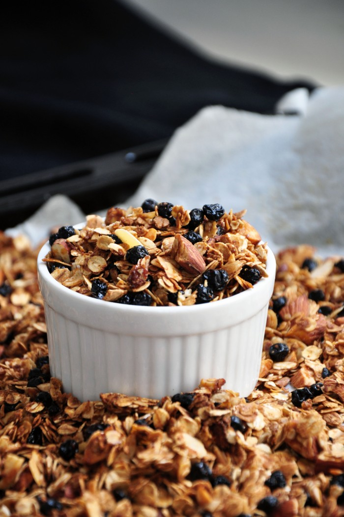 Blueberry Almond Granola (Clean)